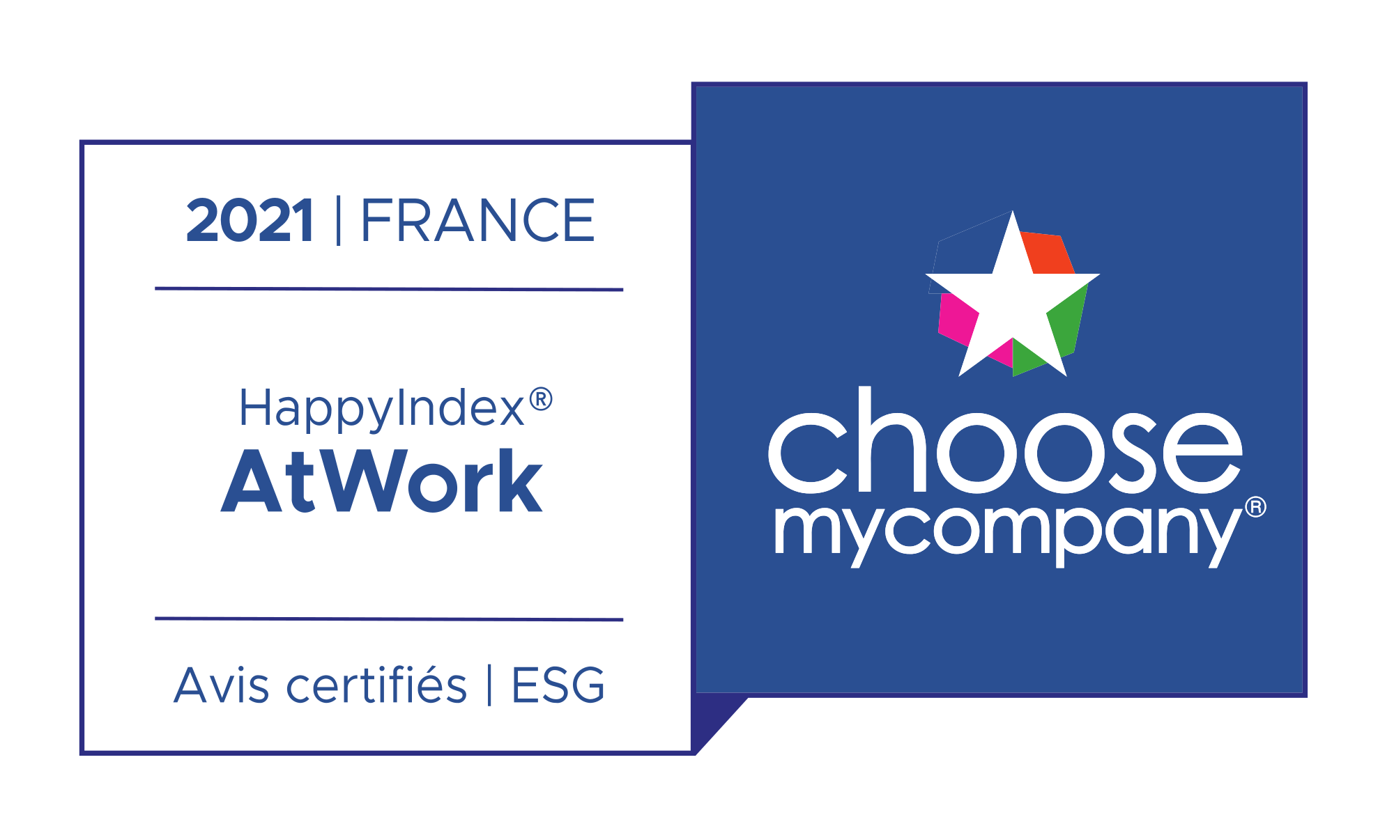 Label Happy At Work France 2021