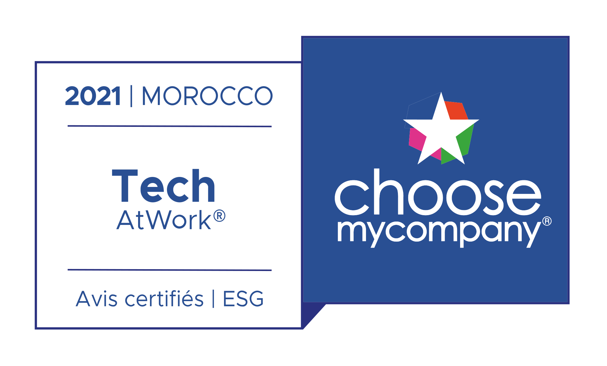 Label Tech At Work Maroc 2021